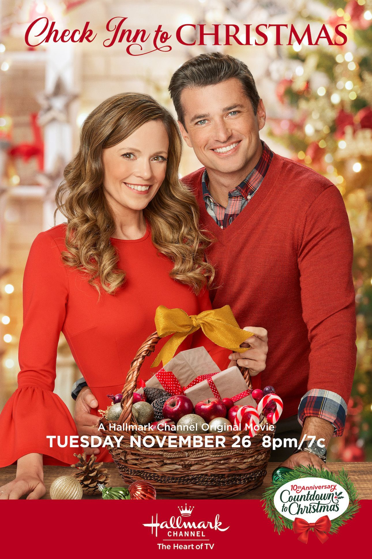 Check Inn To Christmas Stars Rachel Boston And Wes Brown As Rival Innkeepers Who May Find Hallmark Christmas Movies Christmas Movies Family Christmas Movies