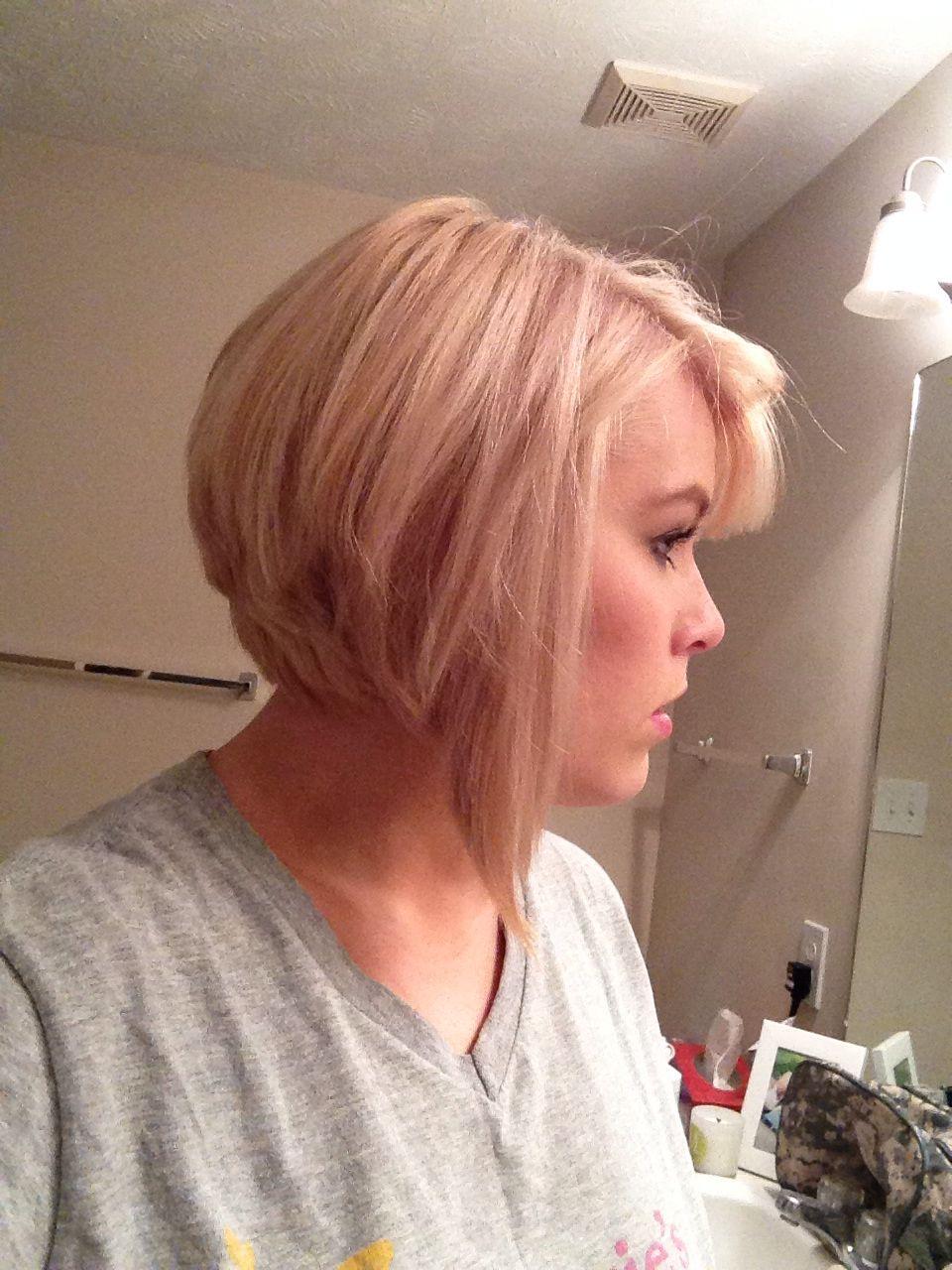 blonde. paul mitchell. disconnect. graduation. short hair