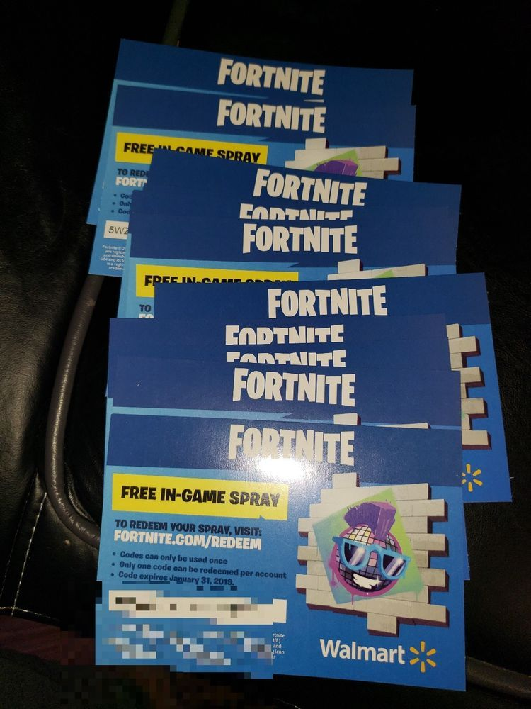 Fortnite Free Walmart Codes | Fortnite Generator Xbox