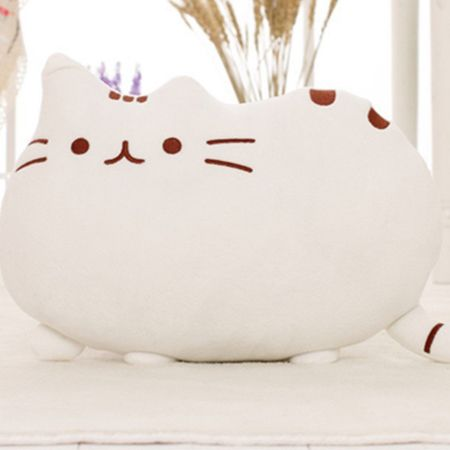 40*30cm Pusheen Cat Plush Toys Stuffed Animal Doll Animal Pillow Toy Pusheen Cat For Kid Kawaii Cute Cushion Brinquedos Gift