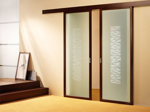 Sliding indoor doors sliding glass door in for Minimalist door design