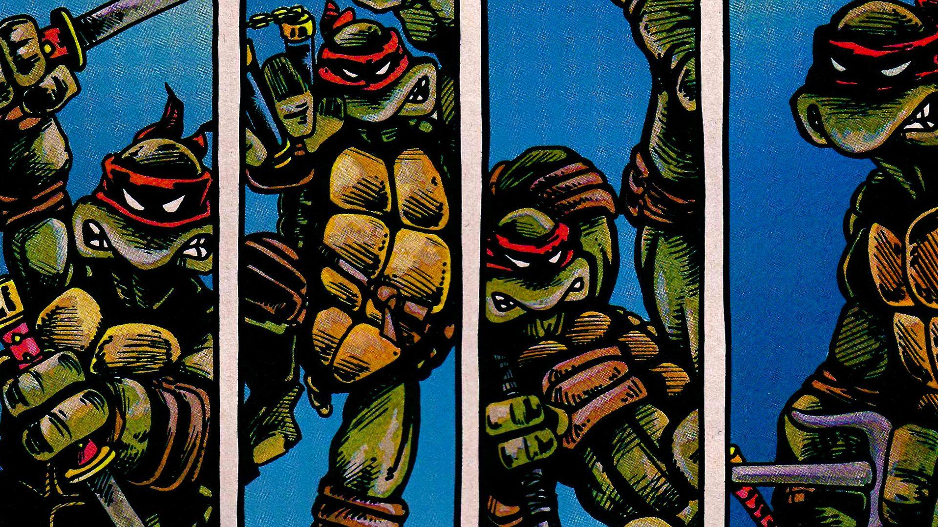 Teenage mutant ninja turtles comic wallpaper - photo#37