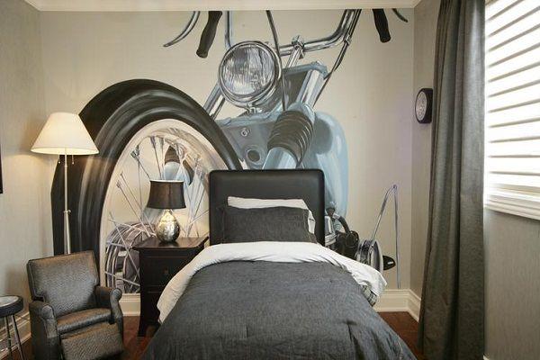 Motorcycle Boys Room Ideas Google Search