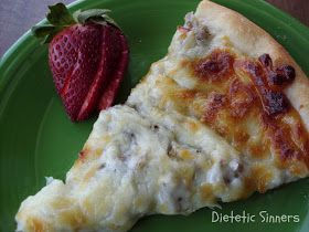 For some reason I keep meaning to post this recipe for breakfast pizza but then decide no, It's my favorite and my creation. I've never sh...