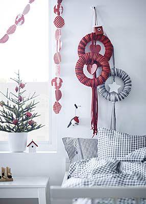 Weihnachtsdeko Ikea weihnachtsdeko in apricot und kupfertönen новый год