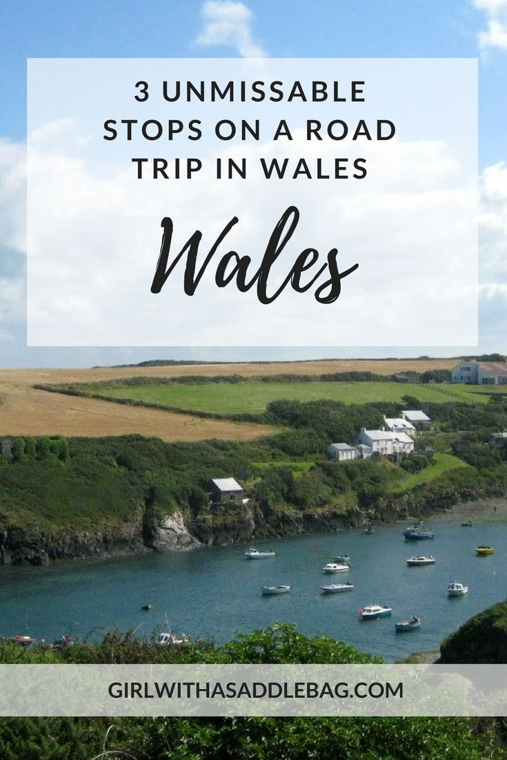 3 unmissable stops on a road trip in Wales #visitwales