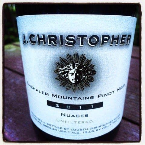 Nittany Epicurean: 2011 J. Christopher Nuages Chehalem Mountains Pinot Noir