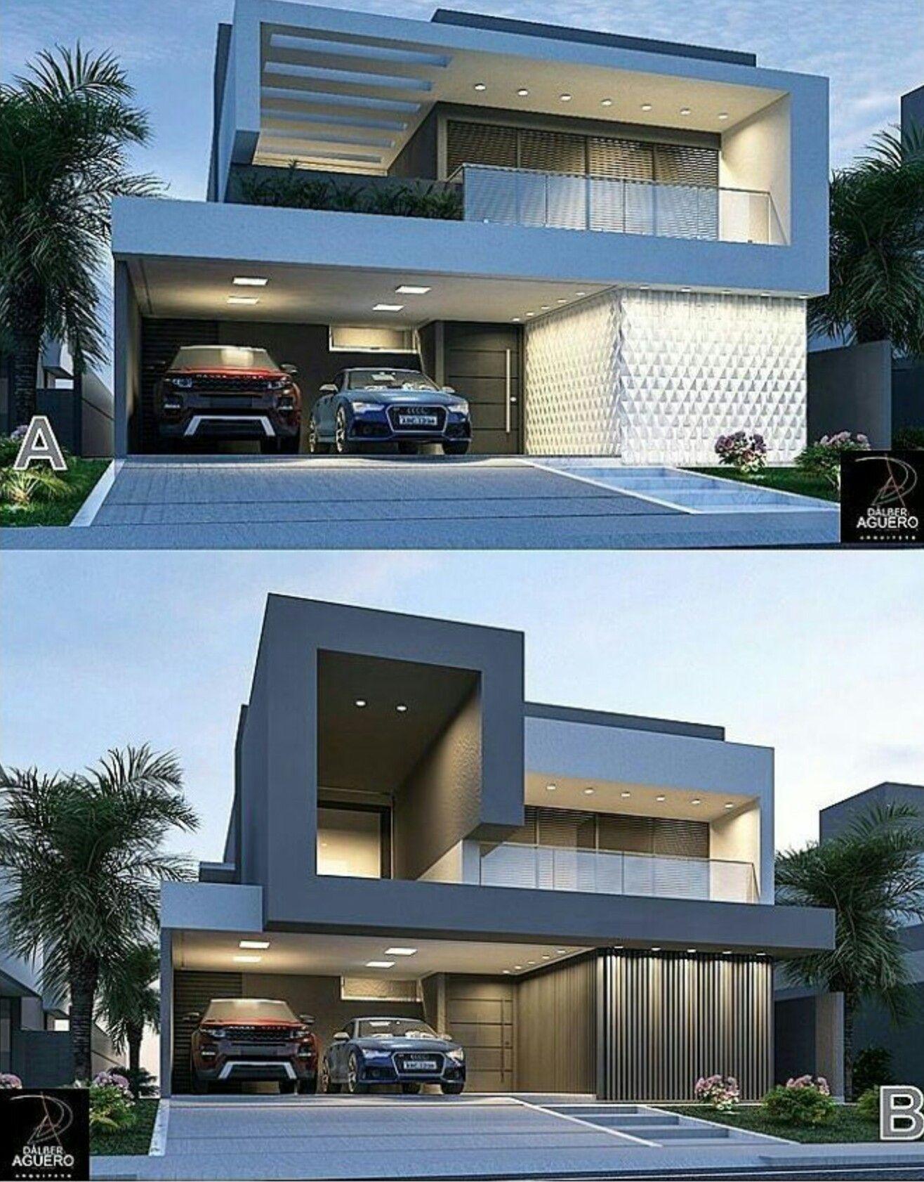 Arquitectura Fachadas De Casas Modernas Casas Modernas: Fachadas De Casas, Arquitetura Casas, Casa Minimalista