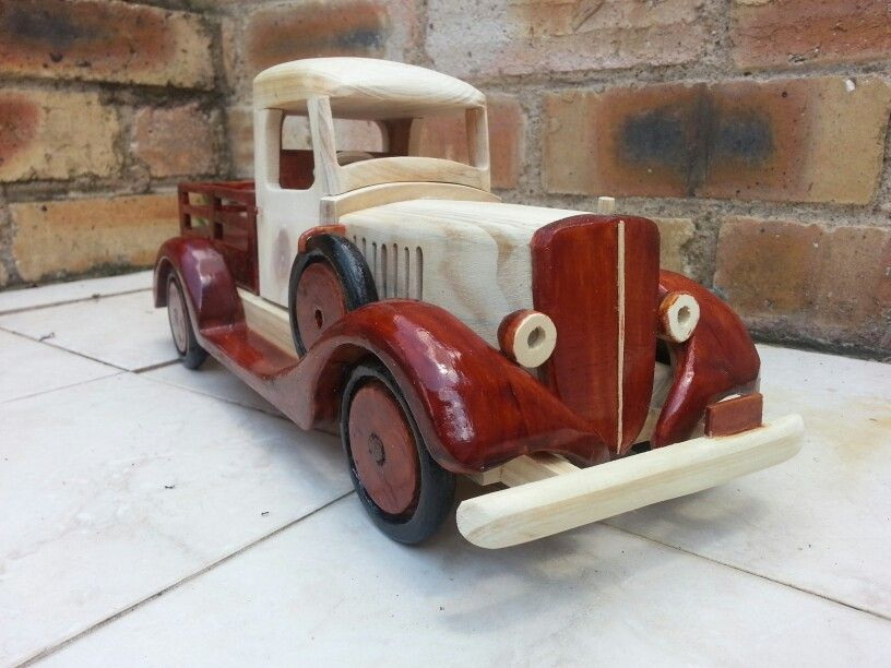 Vintage International pick up.  Recycled pallet wood from Wood u Like it