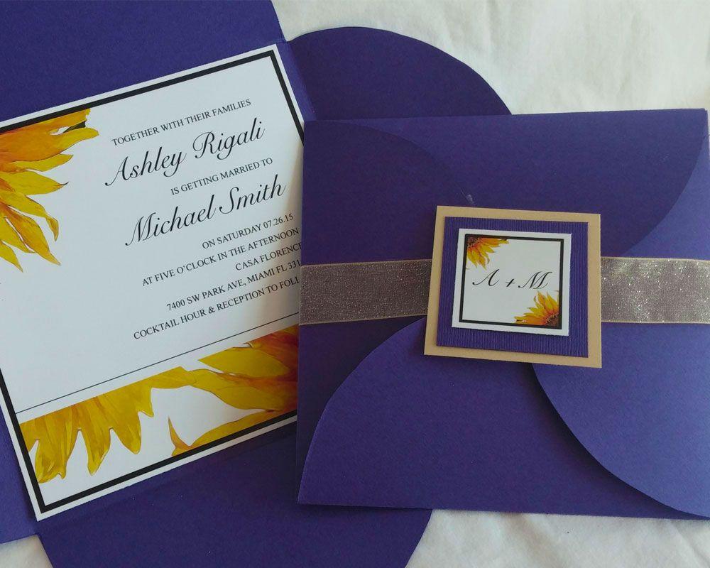 Free DIY Pochette Invitation Template for Weddings