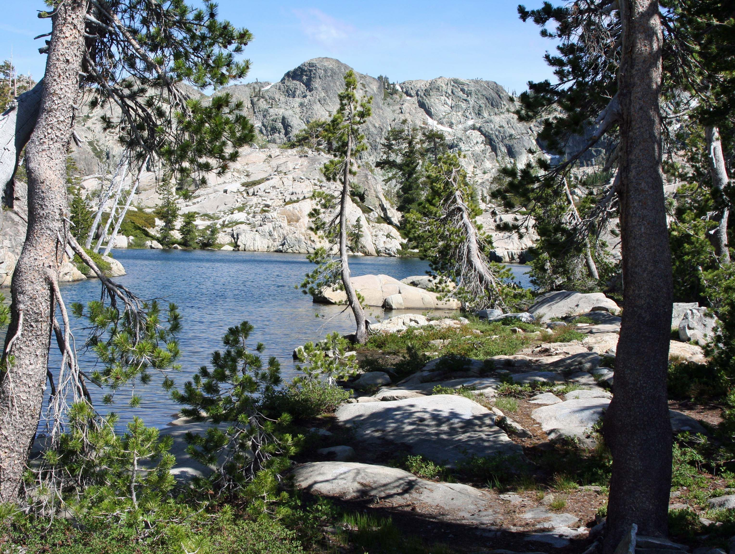The Five Lakes Basin north of Interstate 80 in the northern Sierra's of California.