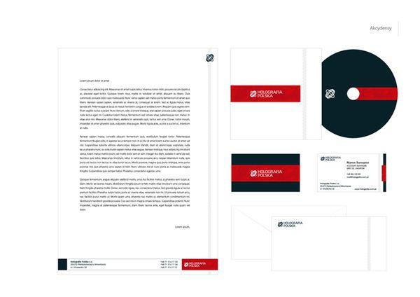 Holografia Polska / rebranding by Marcin Mnich, via Behance