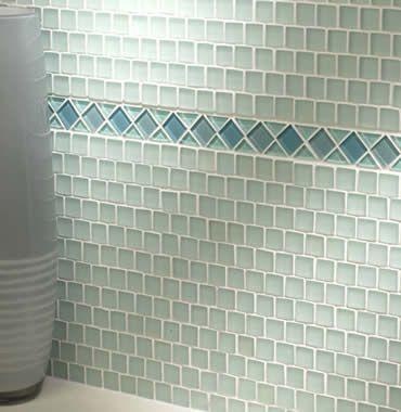 White Bathroom Border Tiles mosaic borders | mosaic border tiles | uk - kent - medway | wall