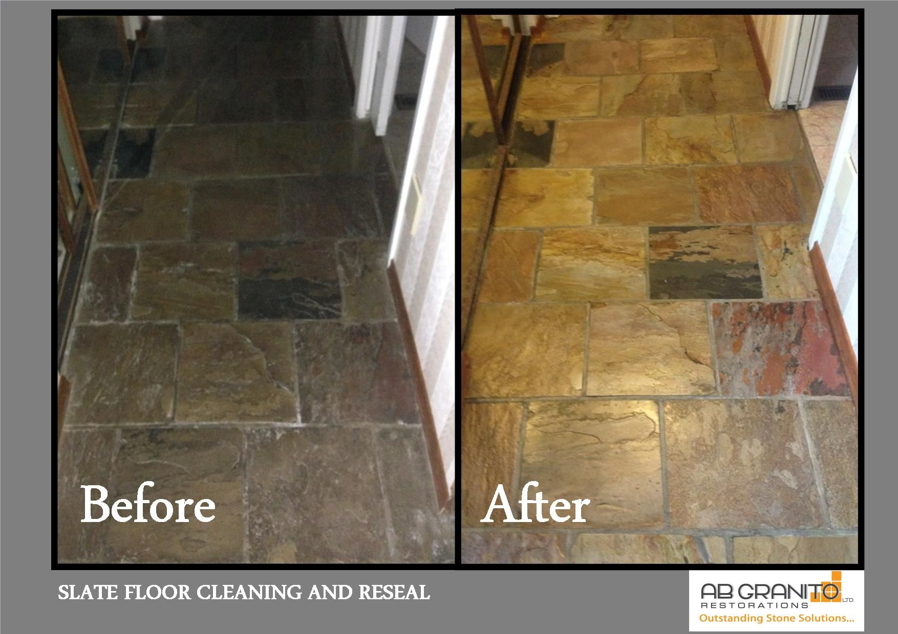 Slate floor deep cleaning and restoration floors showers slate floor deep cleaning and restoration floors showers restorations natural stones pinterest slate flooring restoration and showers dailygadgetfo Image collections