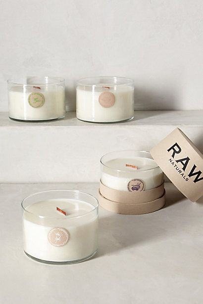 RAW Naturals Jar Candle - anthropologie.com