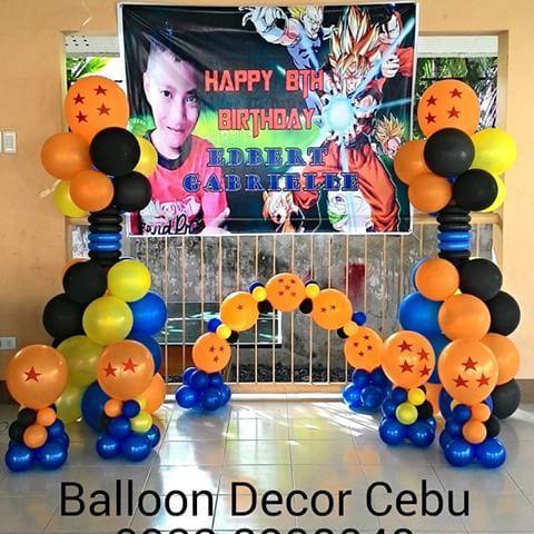dragon ball z dragonballz balloons balloon. Black Bedroom Furniture Sets. Home Design Ideas