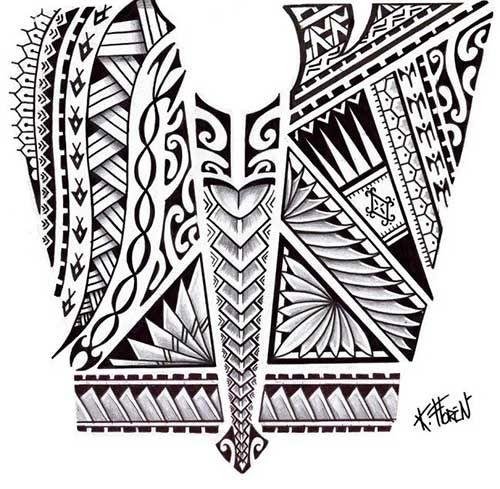 50 maori tattoo designs tribal maorie tattoo vorlagen. Black Bedroom Furniture Sets. Home Design Ideas