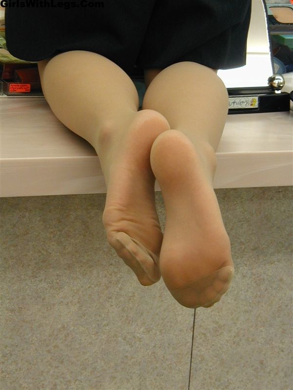 Awesome footjob from lovely wife