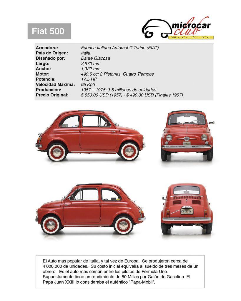 Fiat Nuova 500 Convertibla 1958 Cars I Love Fiat Fiat 500