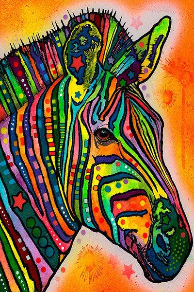 dean russo zebra canvas print icanvas - Dean Russo