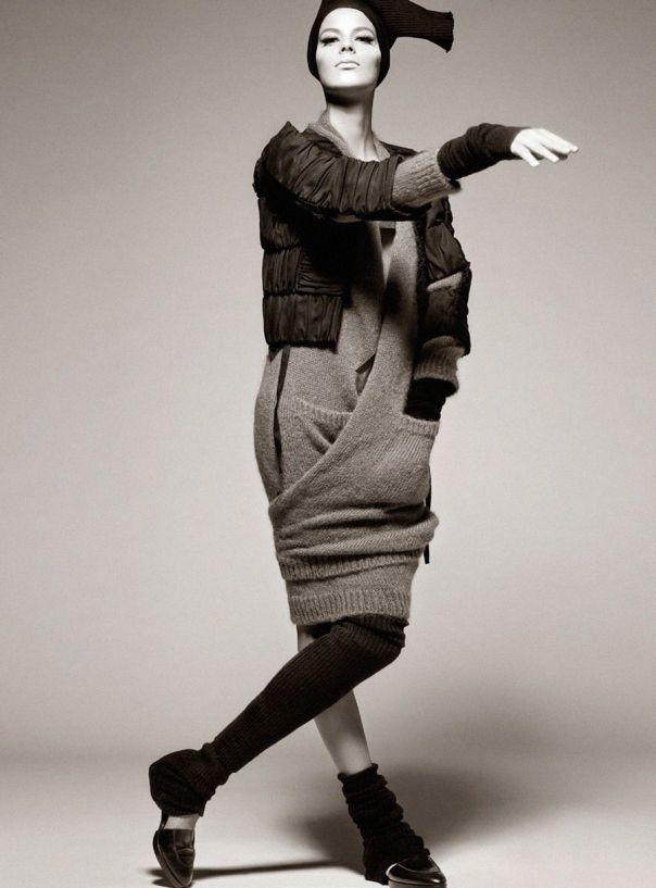 Karlie Kloss, Sasha Pivovarova, Aymeline Valade, Coco Rocha & Lexi Boling by Steven Meisel for Vogue Italia October 2014
