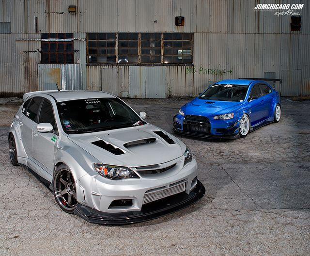Vehicle · WRX STi ...