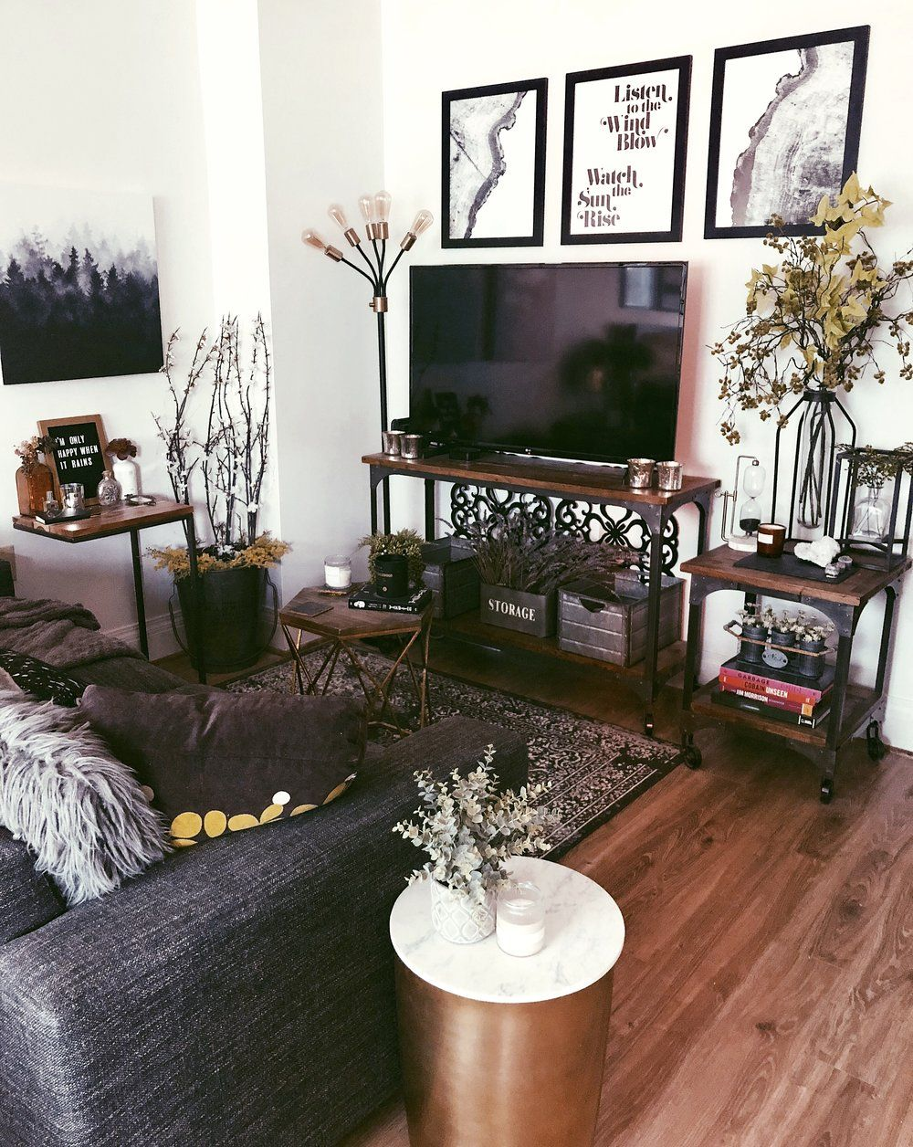 Before & After My Studio Apartment in Downtown Seattle in