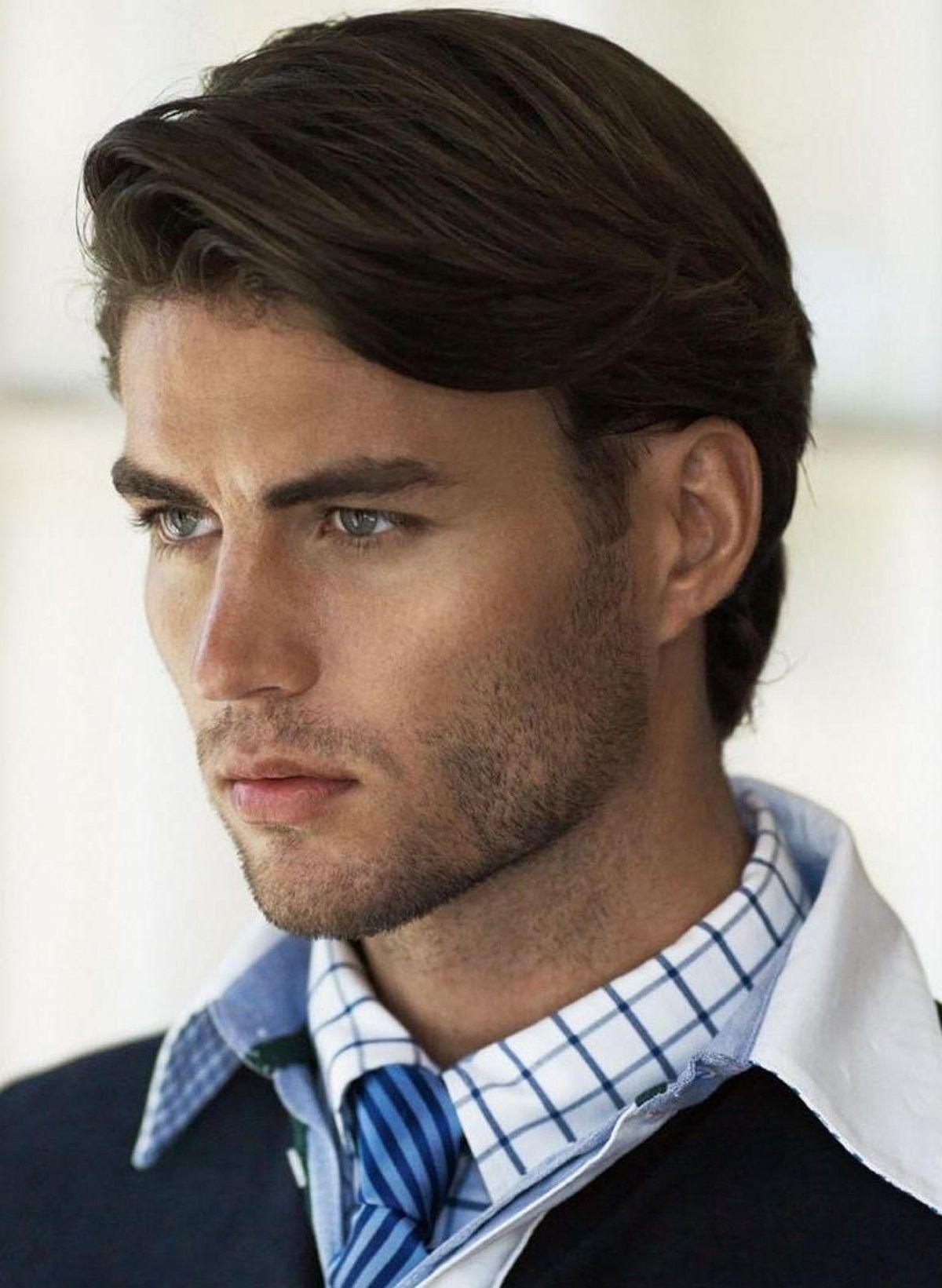 Men S Hairstyle For Long Hair In 2020 Medium Length Hair Styles Mens Medium Length Hairstyles Mens Hairstyles Medium