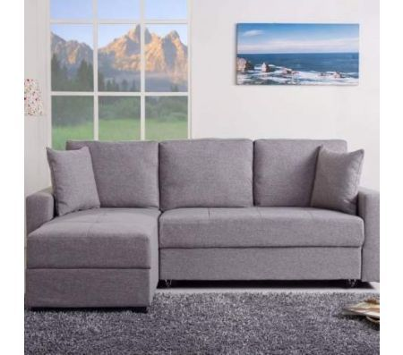 Aspen Convertible Sectional Storage Sofa Bed Victorian Tufted Get A Simple Yet Elegant Modern Look In Your Living Room Den With The