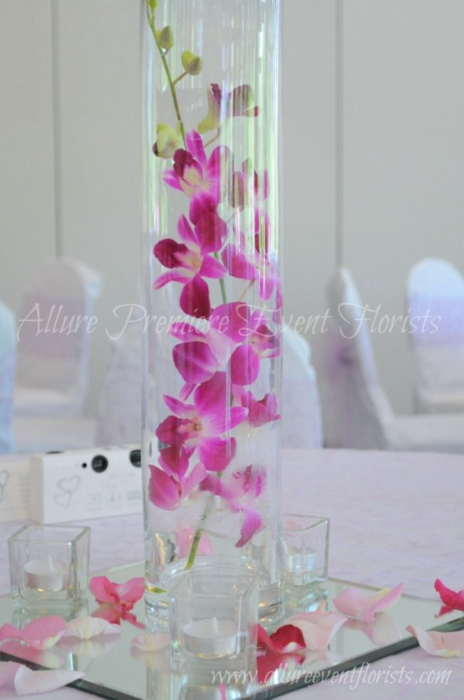 Summertime chic centerpieces!
