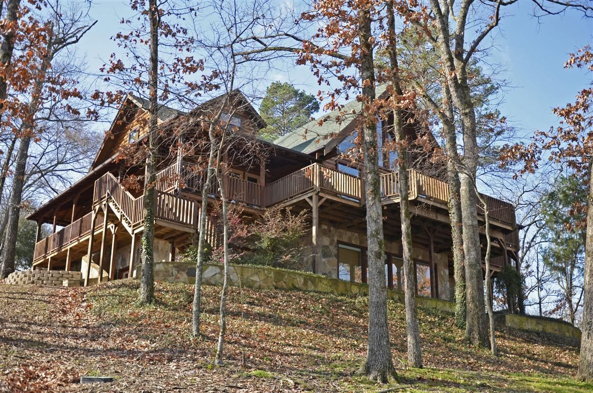 Wonderful Home On Lake Cypress Springs Texas Out In The Woods Log Homes House Styles Waterfront Homes