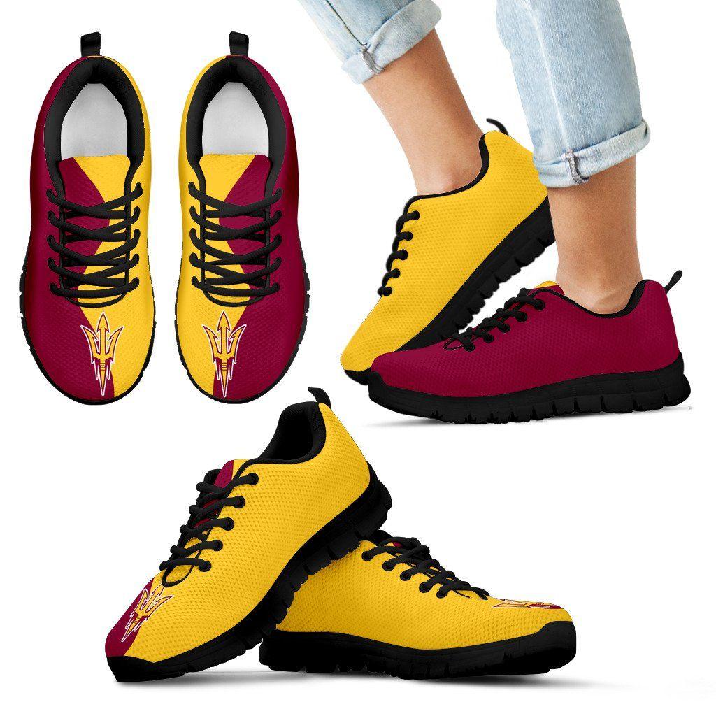 Two Colors Trending Lovely Arizona State Sun Devils Sneaker – Best Funny Store