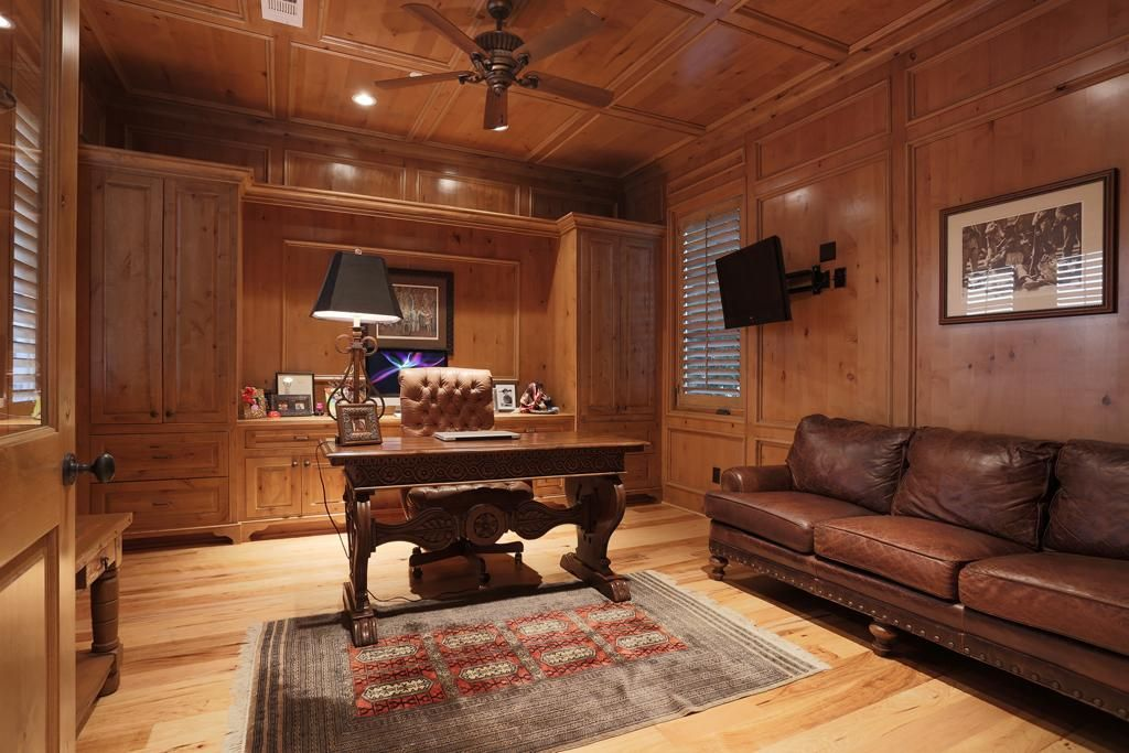 Wood Paneled Office Walls Google Search House Plans