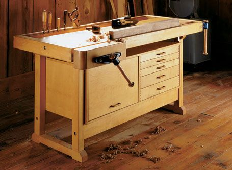 Knock-Down Workbench | Woodworking Project | Woodsmith ...
