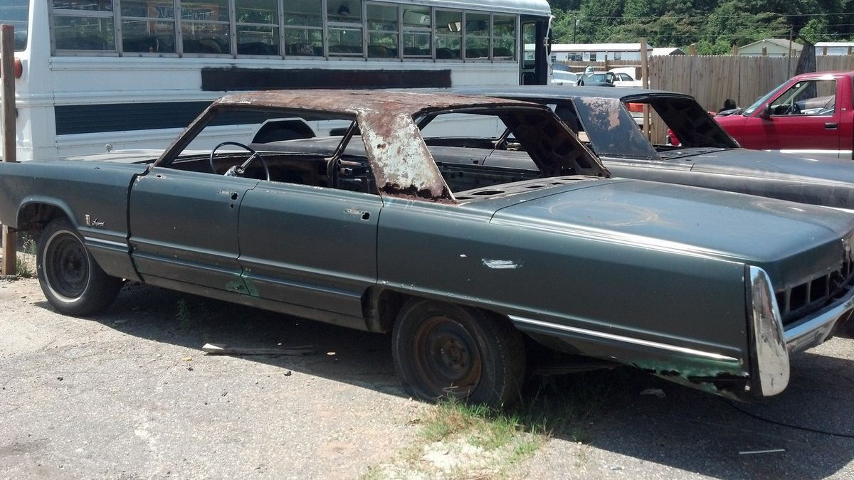 1967 Chrysler Imperial Demolition Derby or Parts Car ...