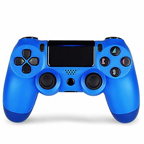 2 Pack Controller For Ps4 Wireless Controller For Playstation 4 With Dual Vibration Game Joystick Berry Blue Ps4 Wireless Controller Wireless Controller Dualshock