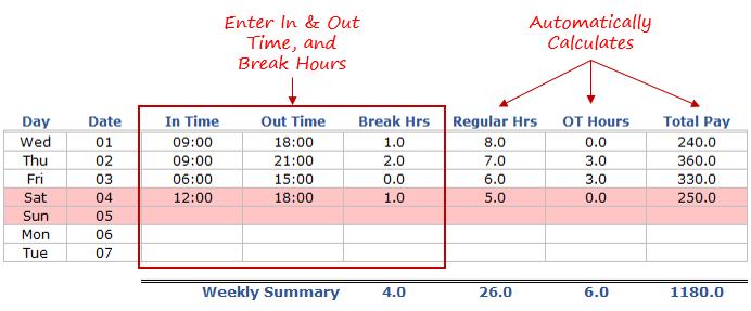 employee time calculator free