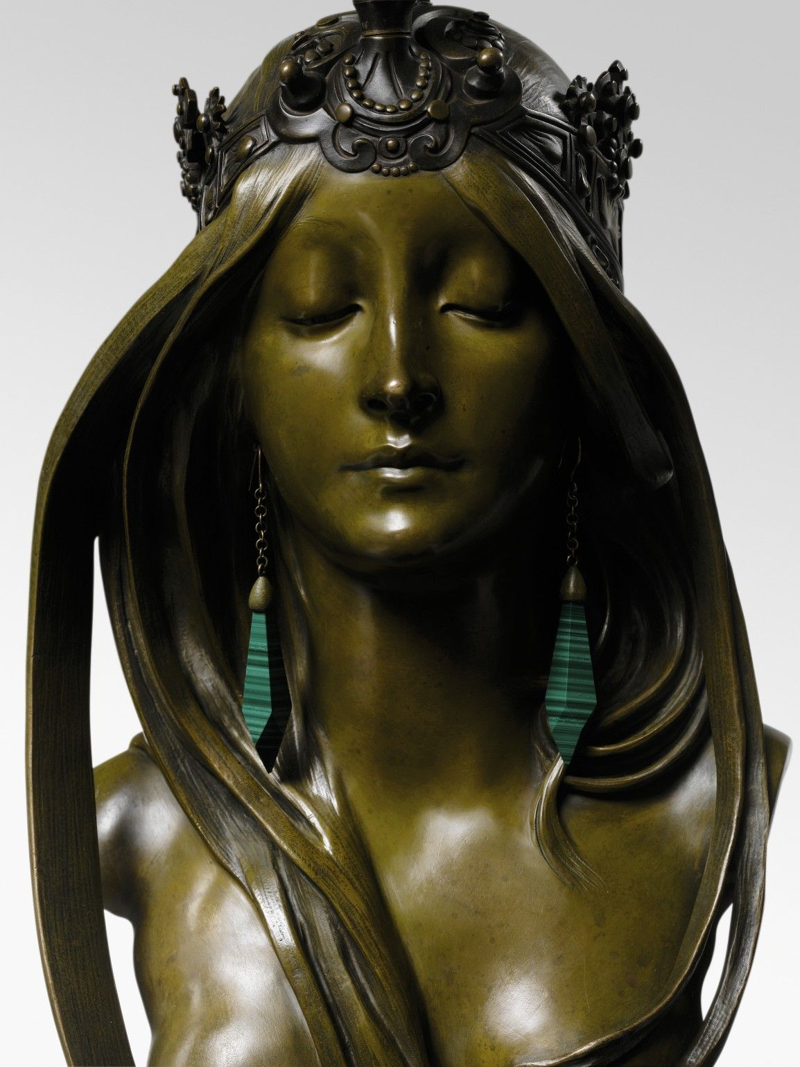 The Rediscovery of a Rare Bust by Art Nouveau Master Alphonse Mucha