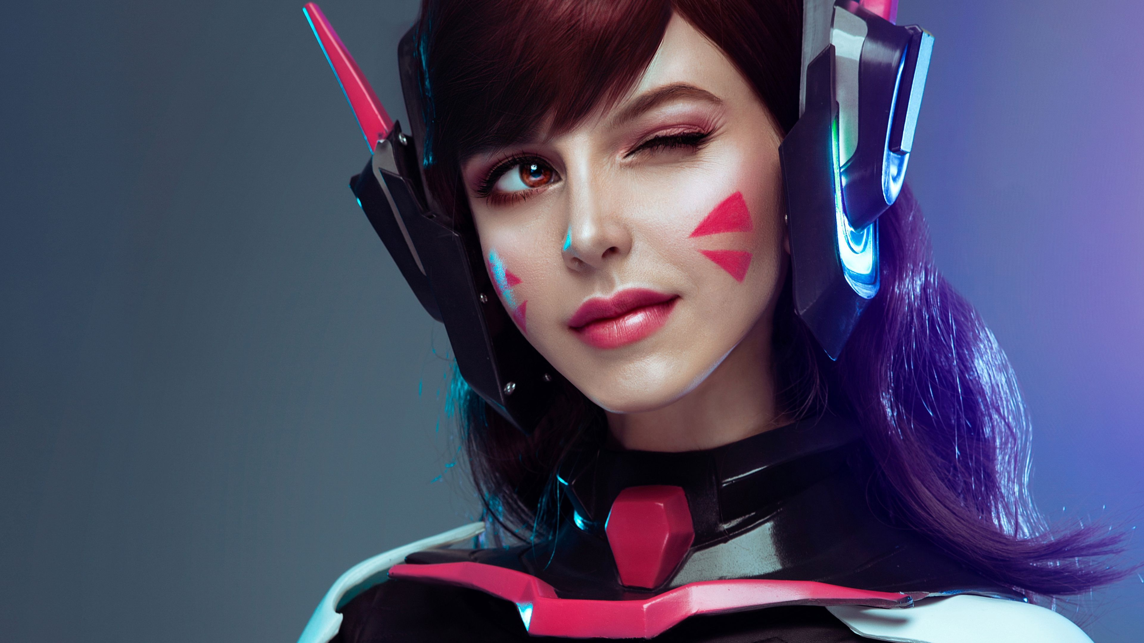 Dva From Overwatch Cosplay Photography Wallpapers Overwatch