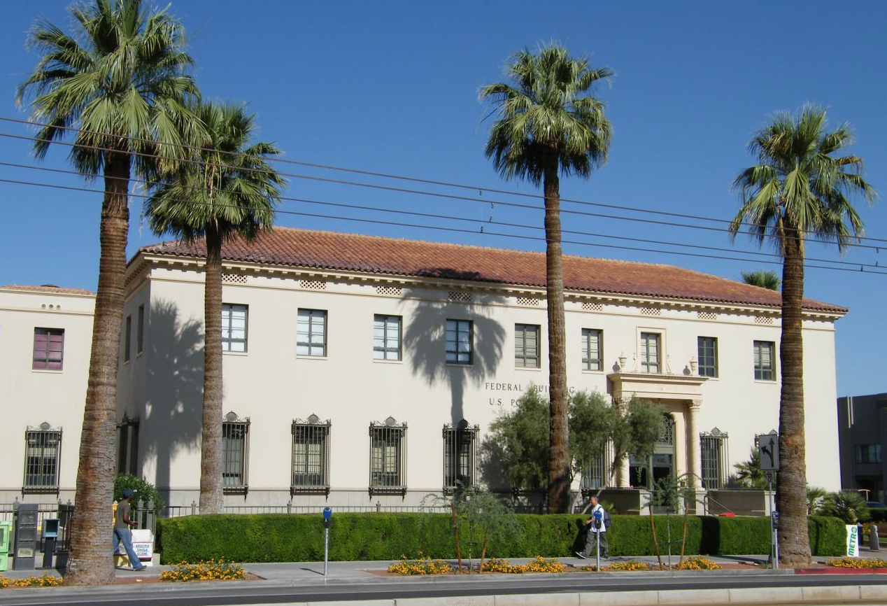 Phoenix Post Office | Building Envelope - Spanish Colonial ...