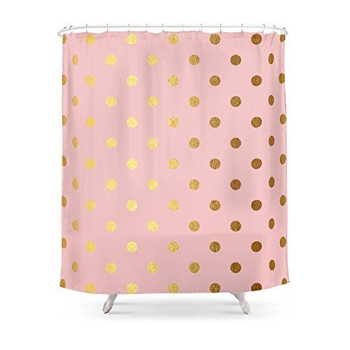 Society6 Gold Polka Dots On Rosegold Backround Luxury P Https