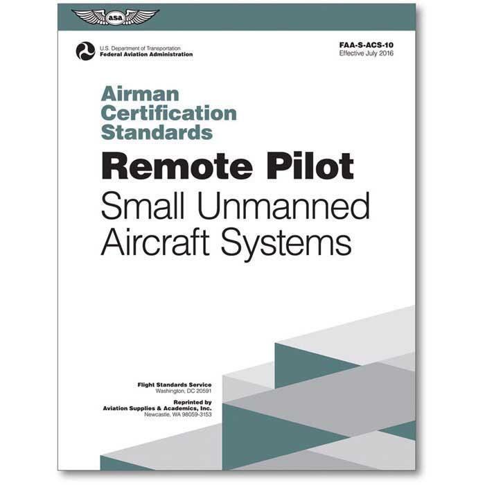 Asa Remote Pilot Airman Certification Standards
