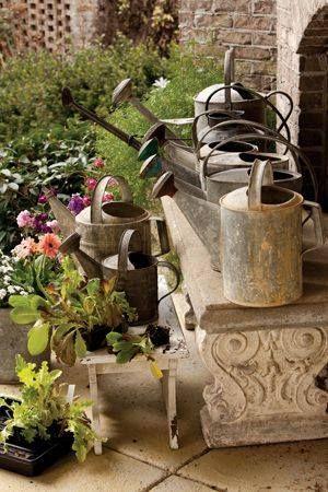 The Vintage Twist Company Watering Cans Giesskanne Dose Garten