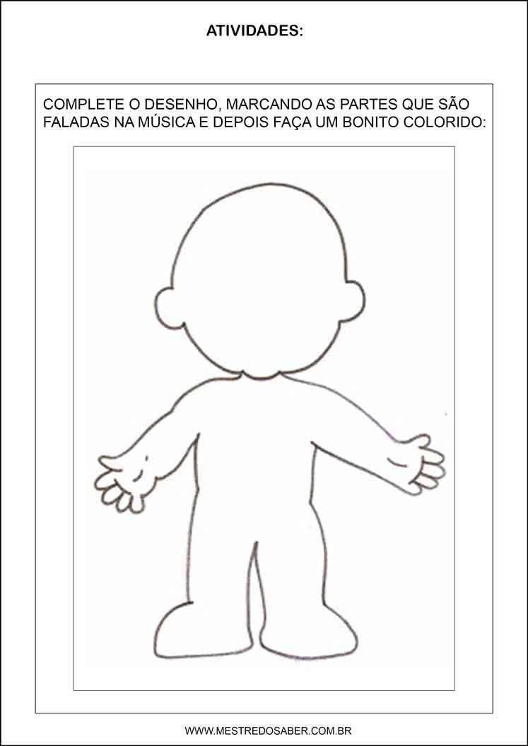 Well-known Sequência Didática esquema corporal na educação infantil - A cara  NY64