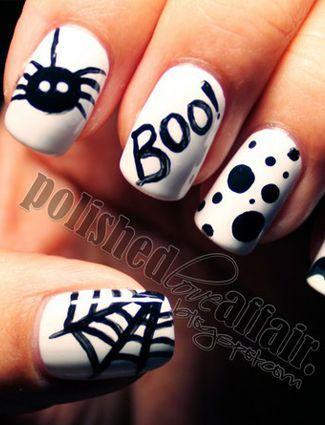 20 Halloween Nail Art Ideas From Pinterest Nails Pinterest