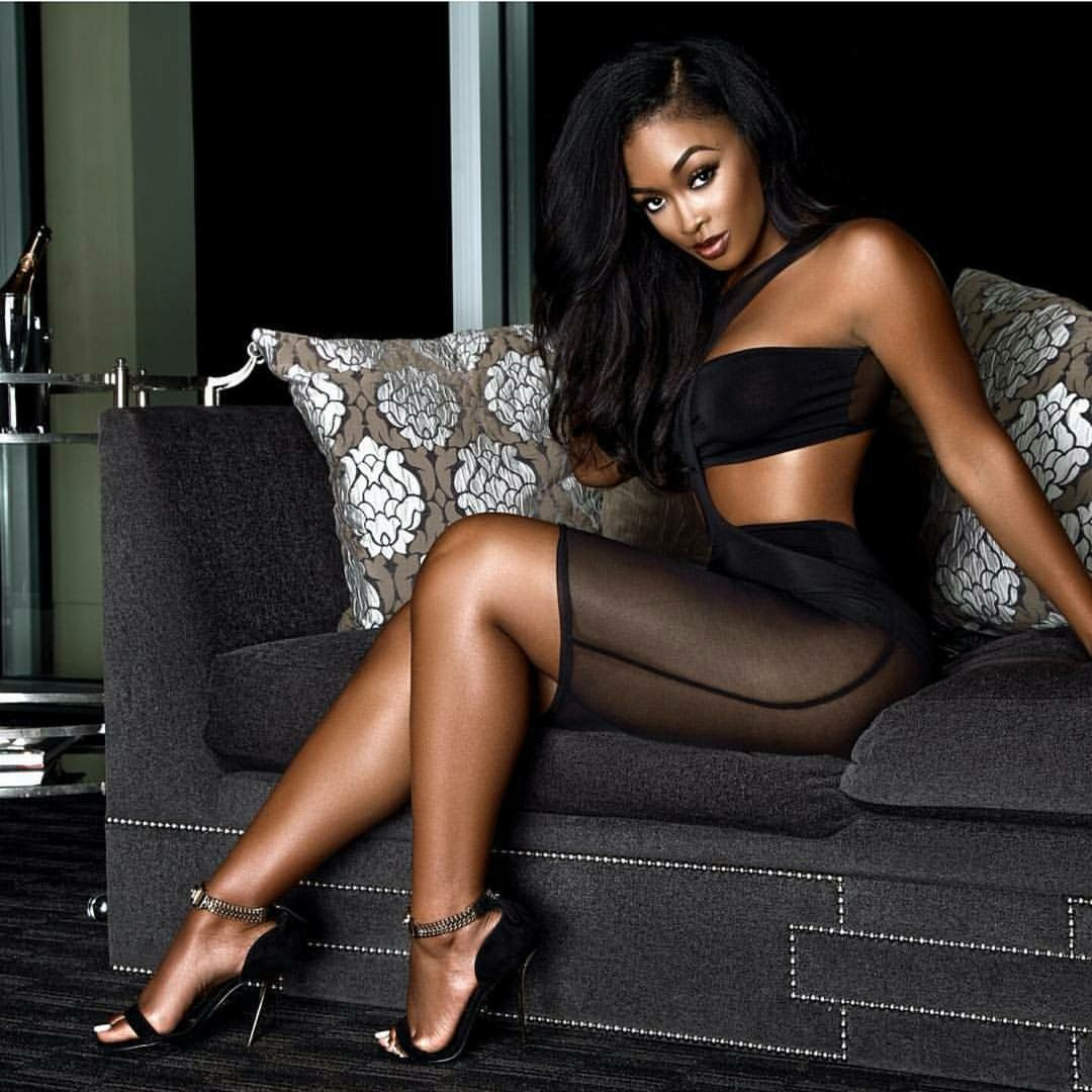 Sexy Black Girls In Heels