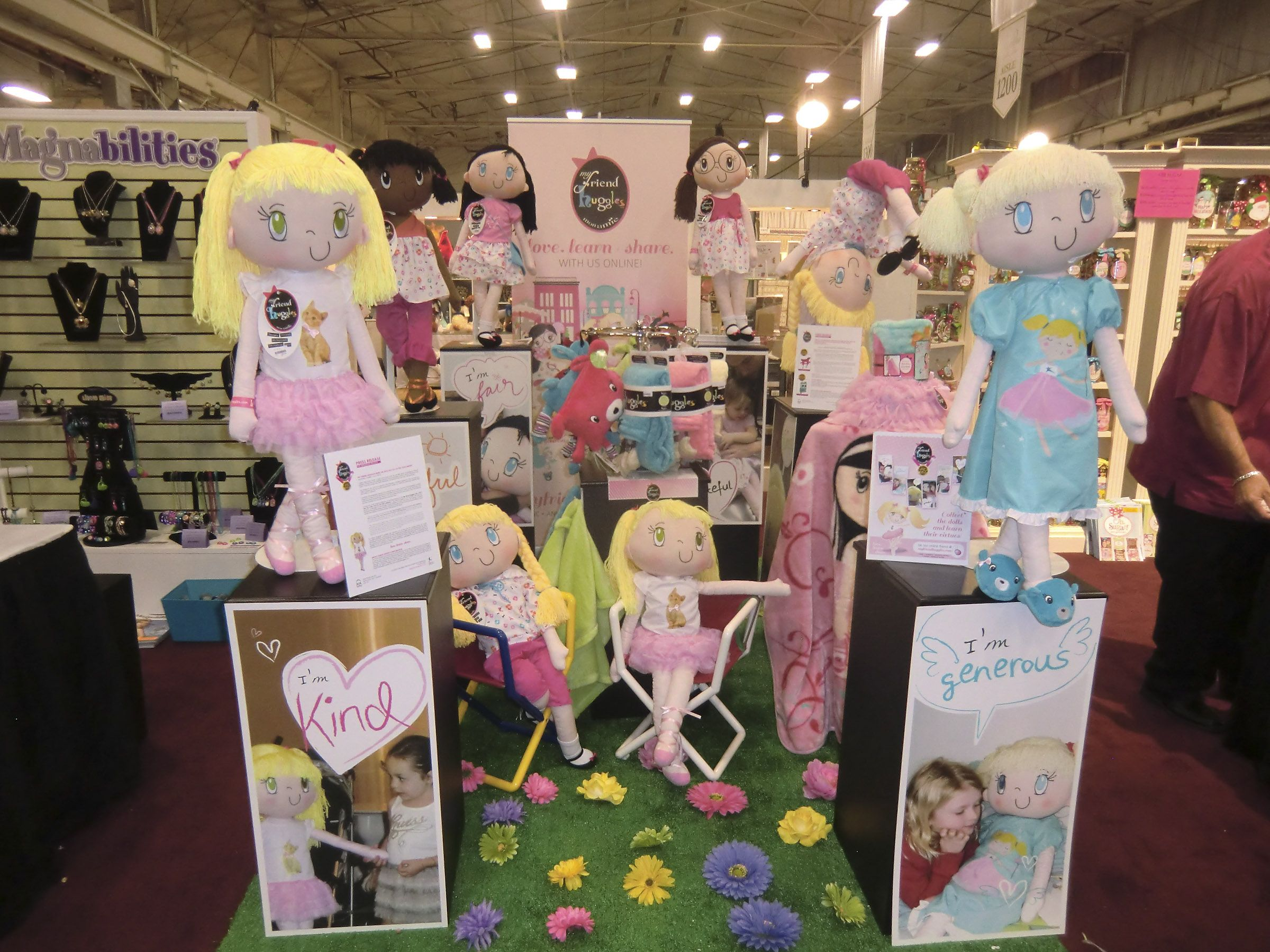 My Friend Huggles at the Philadelphia Gift Show July 2012.. The ...