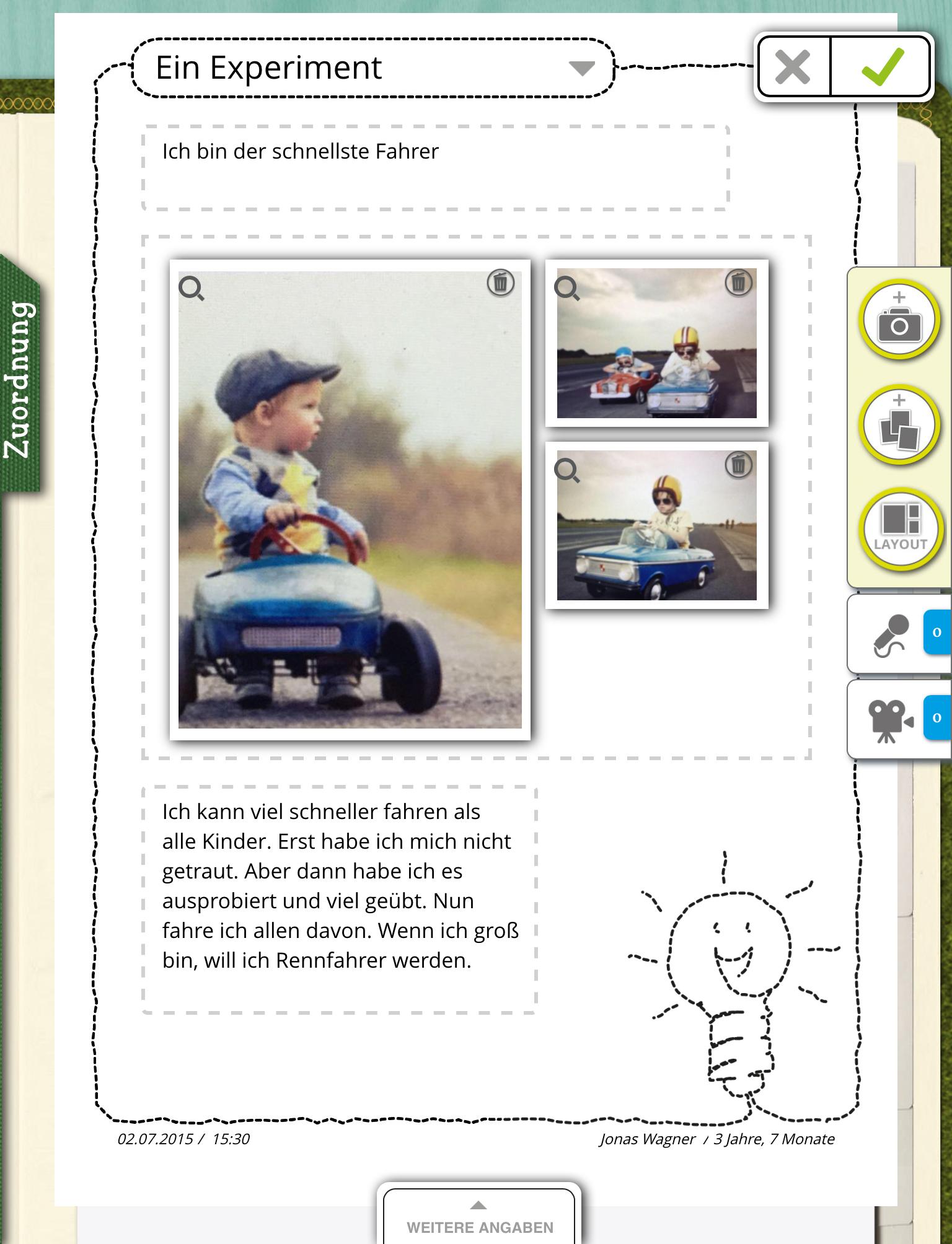 Der Schnellste Rennfahrer Sein Das Muss Gleich Mit Stepfolio Dokumentiert Werden Einfach Das Tab Portfolio Kindergarten Portfolioarbeit Entwicklung Kleinkind