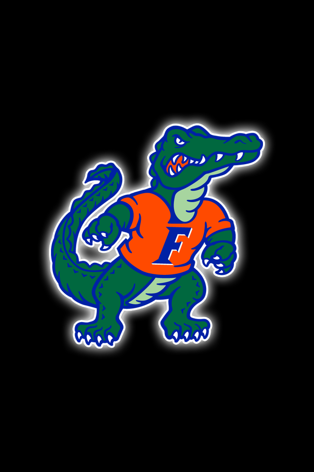 Free Florida Gators Iphone Wallpapers Install In Seconds 21 To Choose From For Every Model Of Ip Florida Gators Wallpaper Florida Gators Football Gator Logo