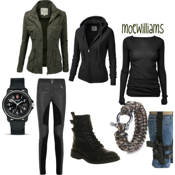 """""""Survival/zombie Apocolypse"""" By Moewilliams On Polyvore"""
